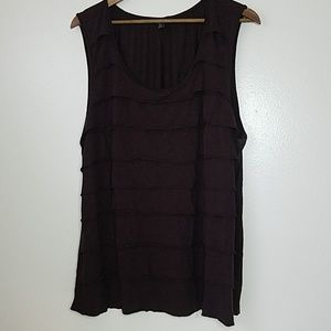 George Brown Layered Tank